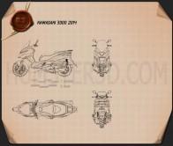 Kawasaki J300 2014 Blueprint