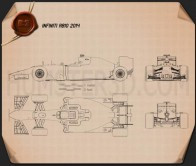 Infiniti RB10 2014 Blueprint