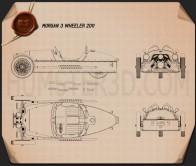 Morgan 3 Wheeler 2011 Blueprint