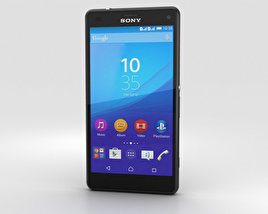 Sony Xperia A4 SO-04G Gray 3D model