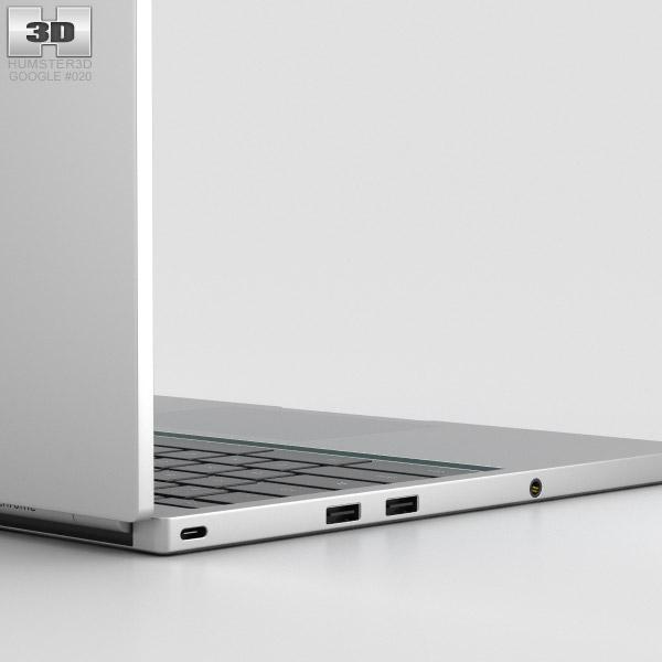 Google Chromebook Pixel 2015 3d Model Hum3d