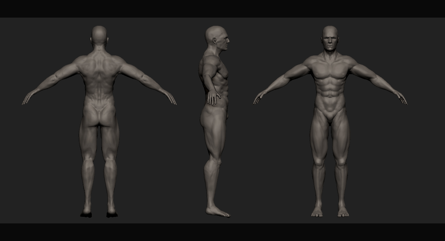 screenshots from Zbrush