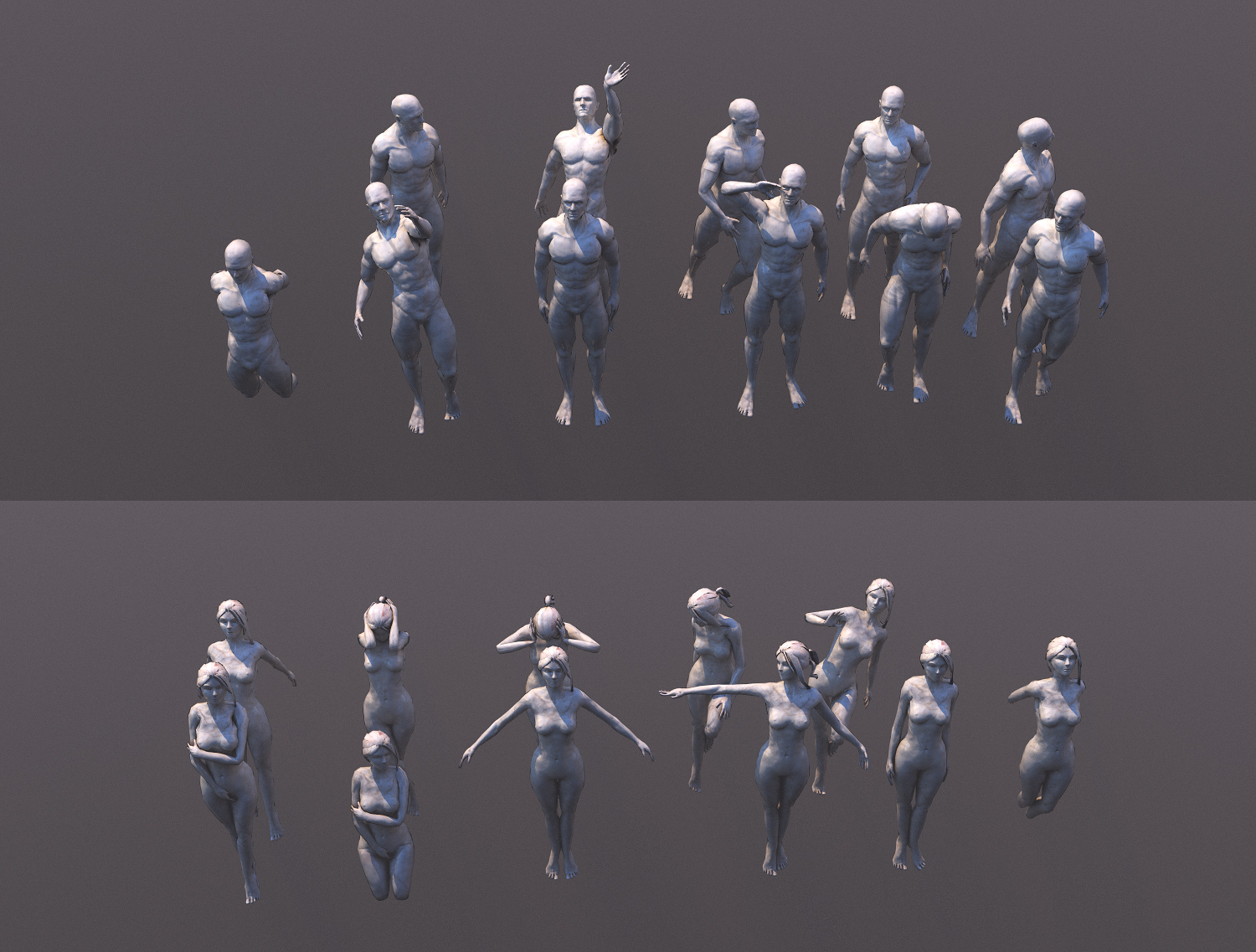 Rig and poses