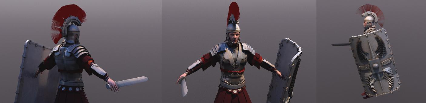 Rome armor