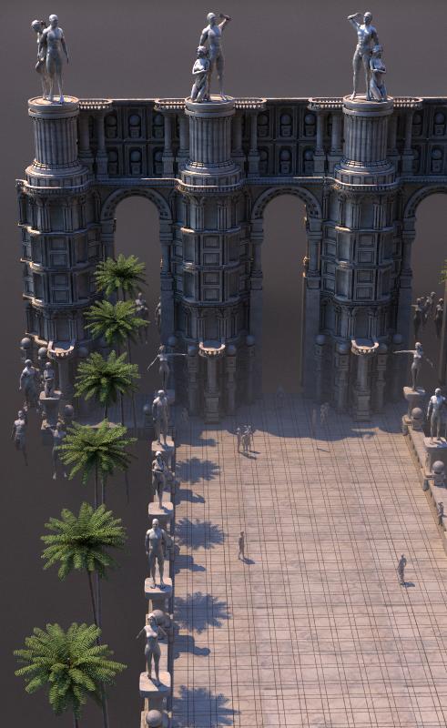 Make Rome architecture