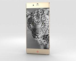 ZTE Nubia Z9 Gold 3D model