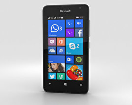 Microsoft Lumia 430 Black 3D model