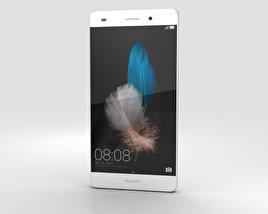 Huawei P8 Lite White 3D model