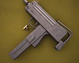Ingram MAC-10 3D model