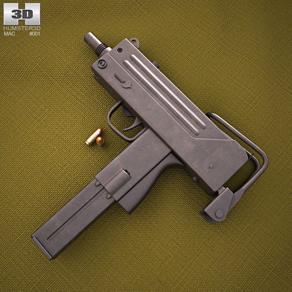 Discount Car Parts >> Ingram MAC-10 3D model - Hum3D