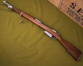 Mauser Model 1889 3D model