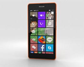 Microsoft Lumia 540 Orange 3D model