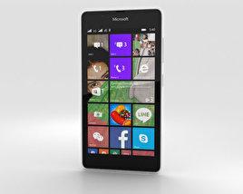 Microsoft Lumia 540 White 3D model