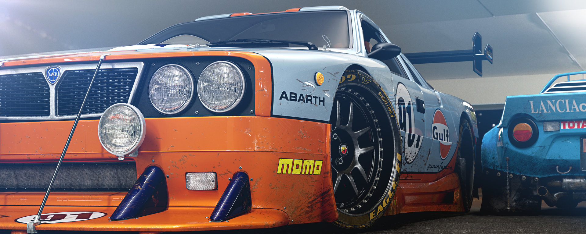 Lancia 037 Touring Gulf
