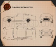 David Brown Speedback GT 2014 Blueprint