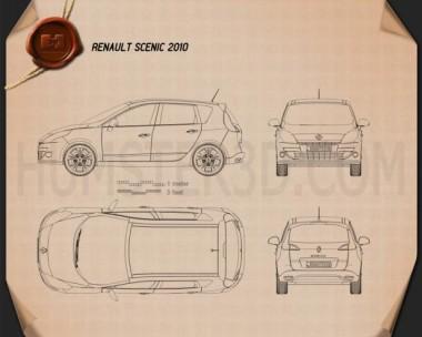 Renault Scenic 2010 Blueprint
