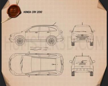 Honda CR-V 2010 Blueprint