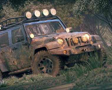 Forest jeep