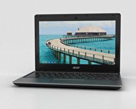 Acer C720 Chromebook 3D model