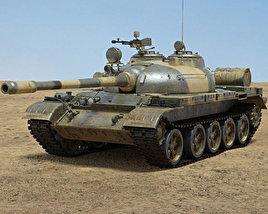 T-55 3D model
