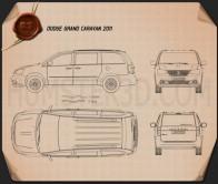 Dodge Grand Caravan 2011 Blueprint