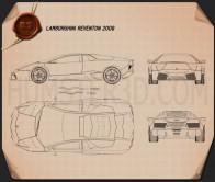 Lamborghini Reventon Blueprint