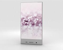 Sharp Aquos Crystal 2 Pink 3D model