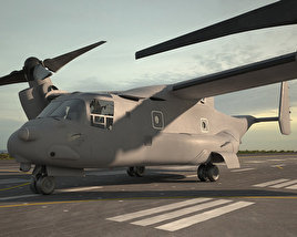 Bell Boeing V-22 Osprey 3D model
