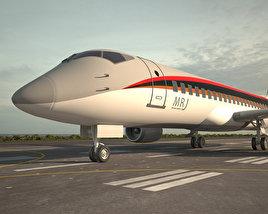 Mitsubishi Regional Jet 90 3D model