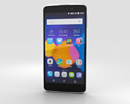 Alcatel One Touch Idol 3 5.5-inch Silver 3D model