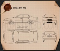 Chery Eastar 2010 Blueprint