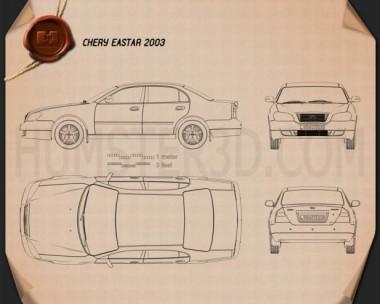 Chery Eastar 2010 Blueprint