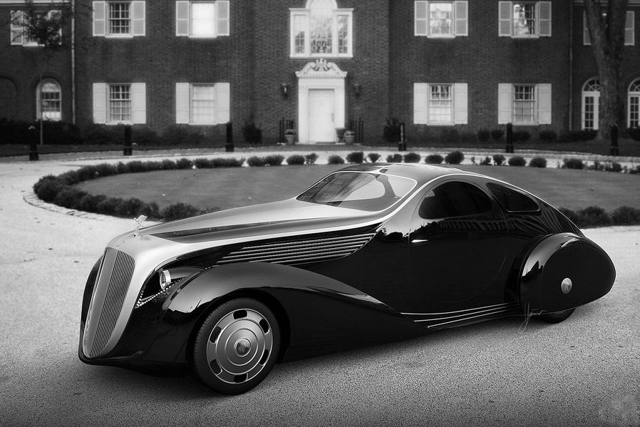 The new Rolls-Royce Jonckheere Aerodynamic Coupe ll concept by Ugur Sahin Design