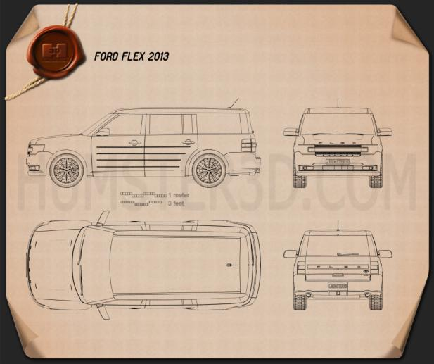 Ford Flex 2013 Blueprint