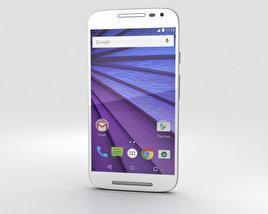 Motorola Moto G (3rd Gen) White 3D model