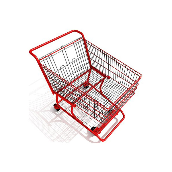 shopping cart download free 3d models
