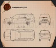 SsangYong Rodius 2013 Blueprint