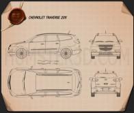 Chevrolet Traverse 2011 Blueprint
