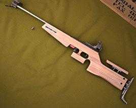1827F ANSCHUTZ Biathlon rifle 3D model