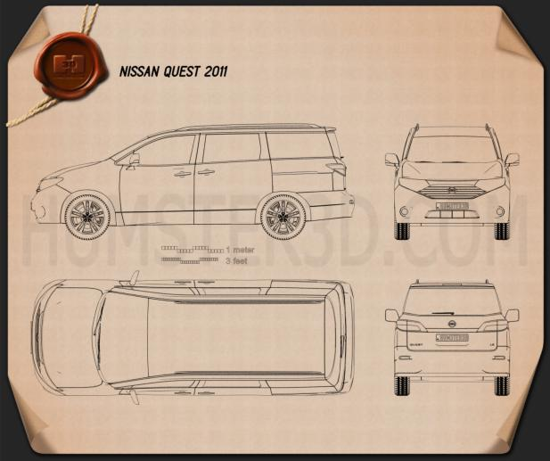 Nissan Quest 2011 Blueprint