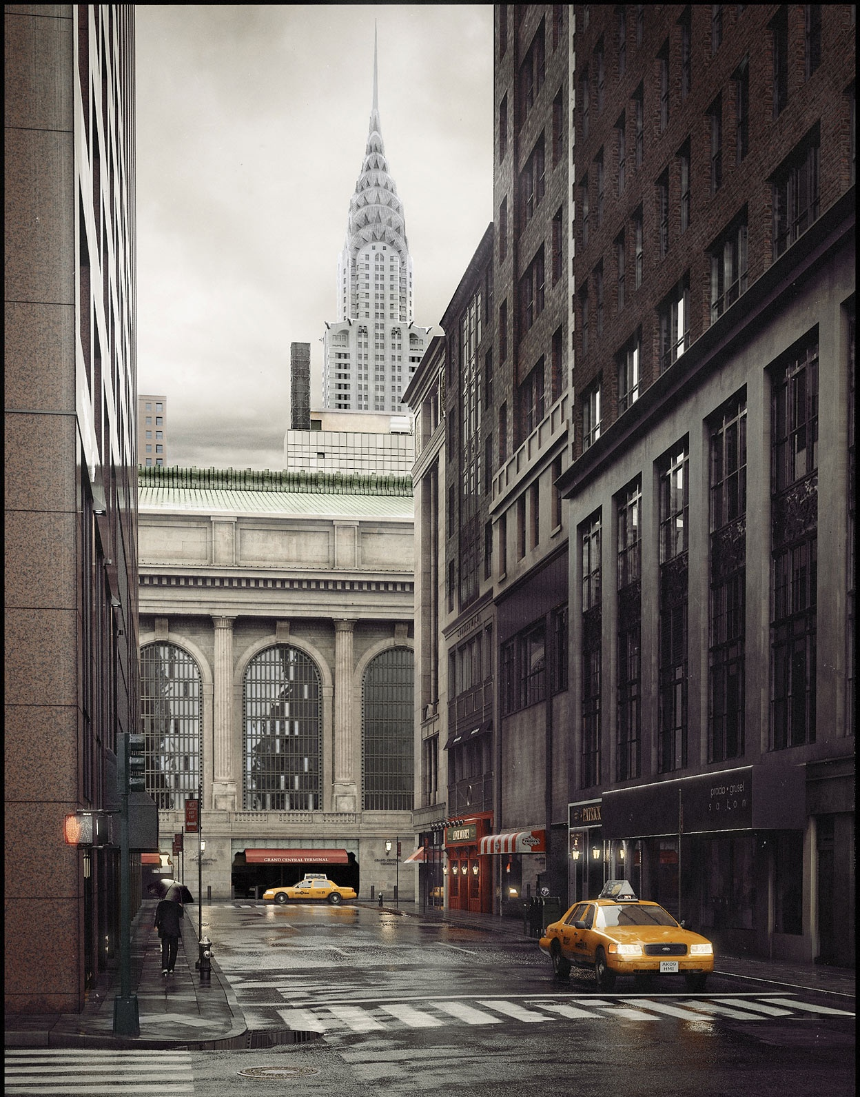 New York. 43rd Street