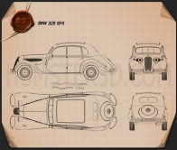 BMW 326 1941 Blueprint