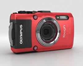 Olympus Tough TG-3 Red 3D model
