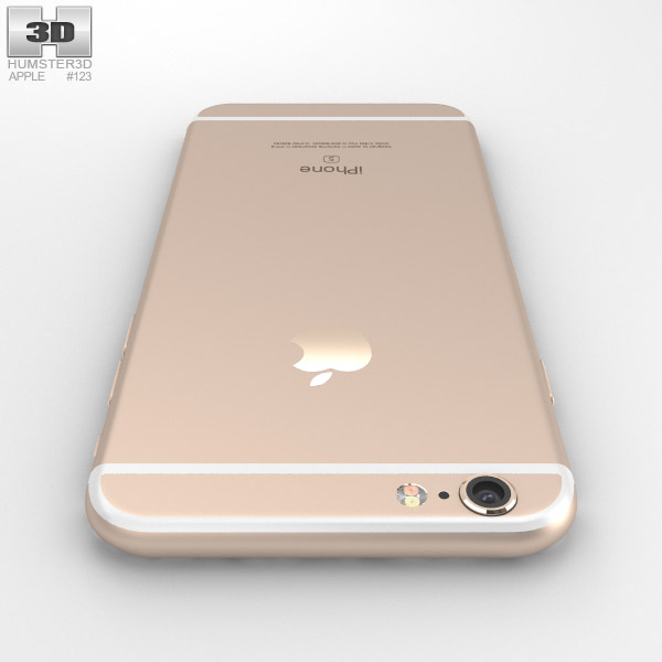 iphone 6s models apple iphone 6s gold 3d model hum3d 11486
