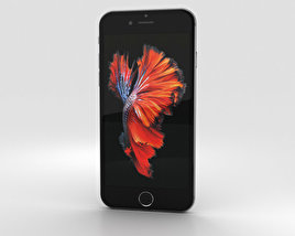 Apple iPhone 6s Space Gray 3D model