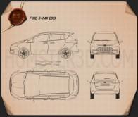 Ford B-MAX 2013 Blueprint