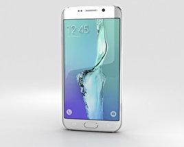Samsung Galaxy S6 Edge Plus White Pearl 3D model