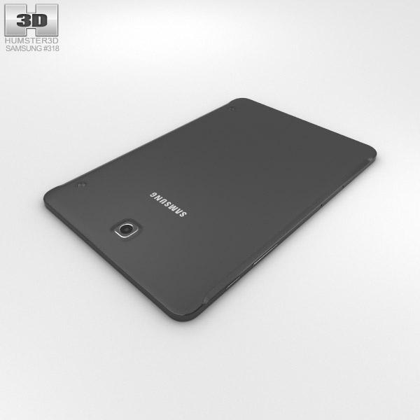 samsung galaxy tab s2 8 0 inch lte black 3d model hum3d. Black Bedroom Furniture Sets. Home Design Ideas