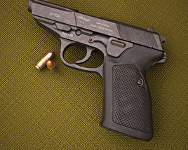 Walther P5 3D model