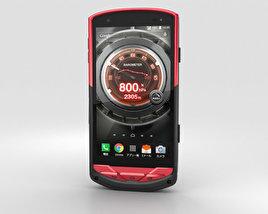 Kyocera Torque G02 Red 3D model
